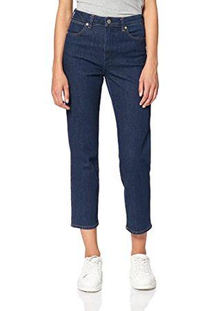 Wrangler Dames The Retro Straight Jeans, (Dark Blue X9V), 26W x 34L