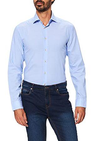 Seidensticker Chambray overhemd voor heren, regular fit, lange mouwen.