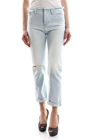 Calvin Klein Dames Slim Cut Wb-Vintage Splatter Boyfriend Jeans, (Vintage splatter 913), 26W x 32L