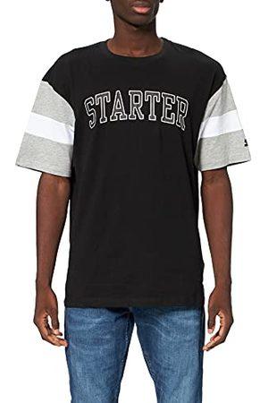 STARTER BLACK LABEL Heren Starter Throwback T-shirt, /heathergrey/ , S