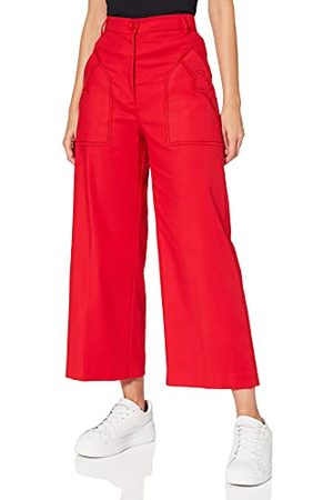 Moschino Love Womens Casual Pants, RED, 44