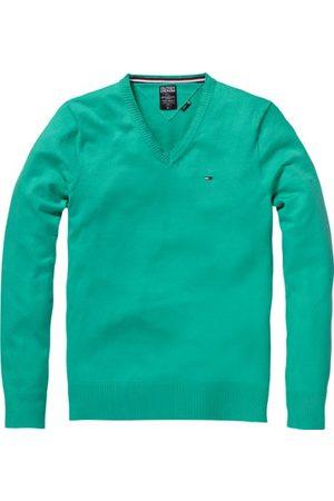 Tommy Jeans Heren lang - normale sweater, (347 gumdrop green), 48