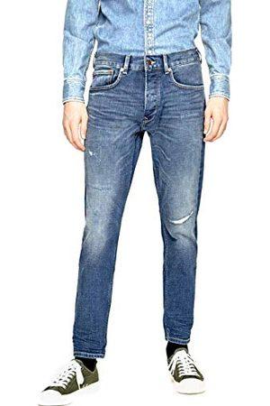 Pepe Jeans Callen Crop Darn Loose Fit Jeans voor heren