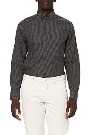 Seidensticker Zijdestickers heren business hemd – eenkleurig overhemd met een B.D. Kraag en hoog draagcomfort – pasvorm modern fit – lange mouwen – 100% katoen.
