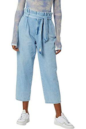 Herrlicher Prachtige dames Comfy Light denim Flared Jeans