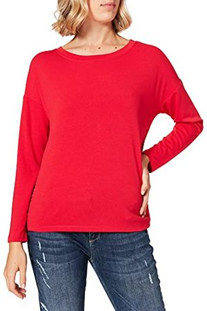 Street one T-shirt voor dames, (Full Red), 40 NL