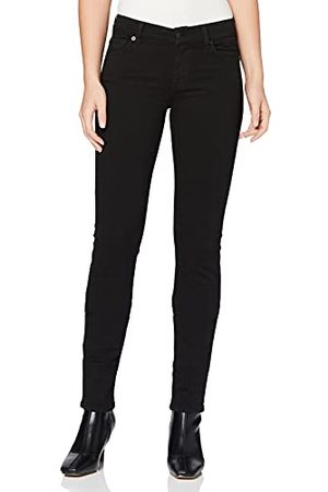 7 for all Mankind Dames Mid Rise Roxanne Slim Jeans