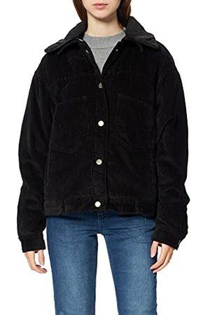 Urban classics Dames Jas Dames Oversized Sherpa Cord-Jas, ( / 00825)., L