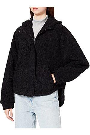 Urban classics Dames Dames Short Sherpa Jacket Jas, , 5XL