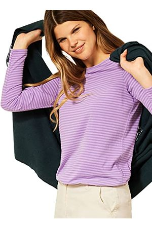 CECIL T-shirt voor dames, Frosty Violet, XXL