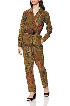 Desigual Damespant_jumpsuit, camotijger, overalls, , XL