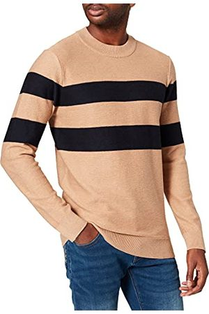 Scotch&Soda Heren Structure-Knitted Contains Wool Pullover