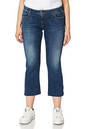 Replay Faaby Flare Crop Jeans voor dames