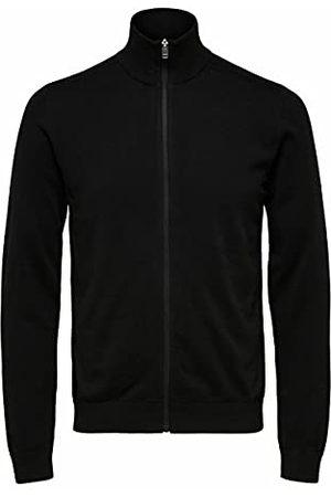 SELECTED Heren Slhberg Full Zip Cardigan B Noos Sweatshirt, , L