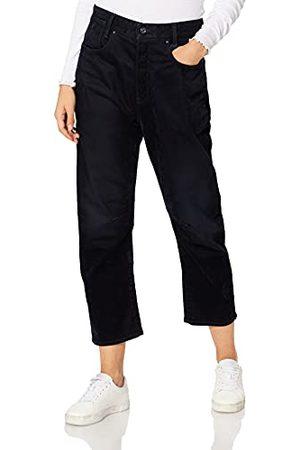 G-Star Raw C-STAQ 3D Cropped Boyfriend jeans voor dames, (Mazarine Iced Flock C554-c081), 24W x 30L