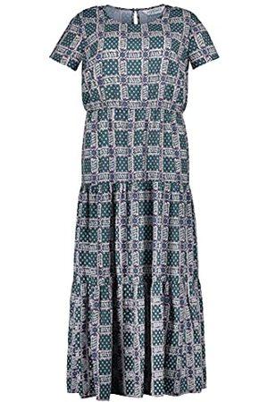 STUDIO UNTOLD Maxi-jurk voor dames met tegelprint