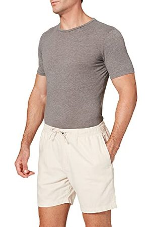 Superdry Mens M7110201A Shorts, Stone, 32W