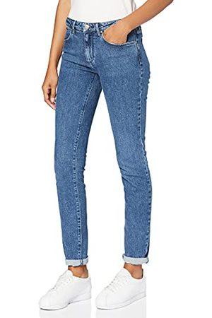 Wrangler Dames Slim Jeans, (waterblauw), 34W x 31L