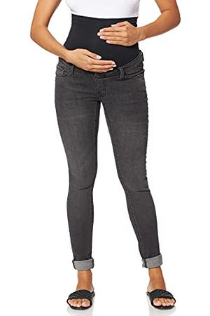 Supermom OTB Skinny Washed Black Jeans voor dames.