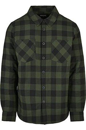 Urban classics Gewatteerd check flanellen overhemd voor heren, /bos, XL