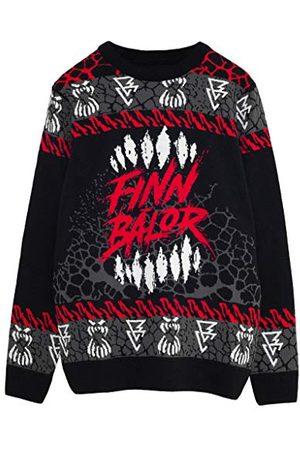 Popgear WWE The Demon Finn Balor Heren gebreide trui L | Wrestlemania Halloween Kerst Jumper Ugly Idee Sweater Xmas Gift For Men