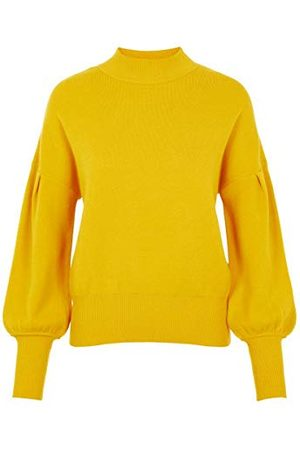 YAS Fonny Knit S. Pullover voor dames, citroen curry, XL