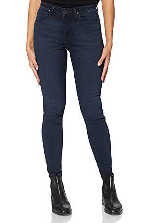 Lee Scarlett High Zip Jeans voor dames.