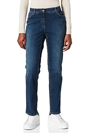 Gerry Weber Dames Straight Fit Jeans, donkerblauw, 44 NL