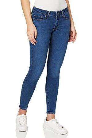 Levi's 711 Skinny Jeans voor dames - blauw - 28W / 34L