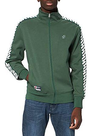 Superdry Heren Sdry Code Tape Track Jacket Cardigan Sweater