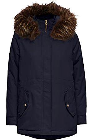 ONLY Dames Onlelsa Parka Coat OTW mantel, night sky, XL