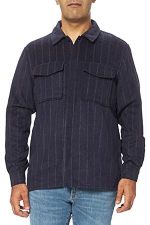 Casual Friday Heren Andy Ls Wool Mix Overshirt Jas