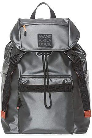 Mandarina Duck Warrior Backpack/Gun metaal dames, eenheidsmaat