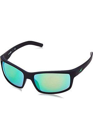 Arnette Heren 0AN4202 447/3R 62 zonnebril, (Fuzzy Black/Lightgreenmirrorgreen)