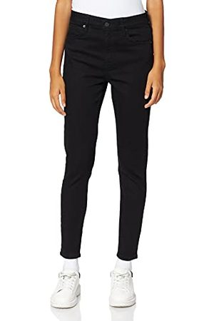 Superdry Dames STUDIOS HIGH RISE SKINNY Jeans, Stay Black, 32W/30L