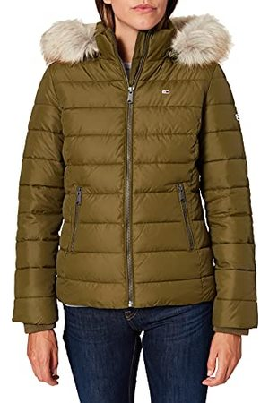 Tommy Jeans Dames Tjw Essential Hooded Jacket