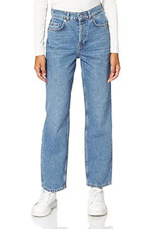SELECTED FEMME BLUE Dames Slfkate Hw Straight Air Blue U Jeans