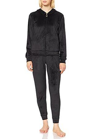 Emporio Armani Shiny Velvet Full Zip Jacket + Broek voor dames
