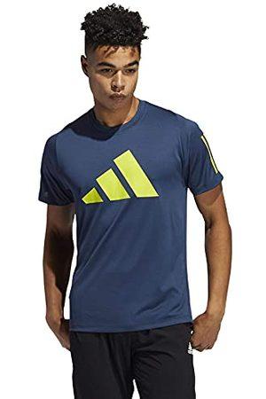 adidas FL 3 Bar Tee T-shirt, Crew Navy, L heren