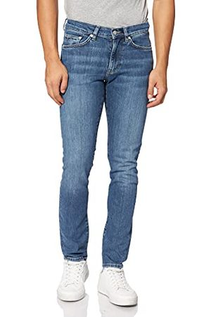 GANT Hayes Jeans vrijetijdsbroek, SEMI Light Indigo Worn IN, 3336