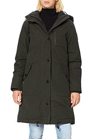 G-Star Dames New Duty Padded Hooded Parka, (Asfalt 995), M