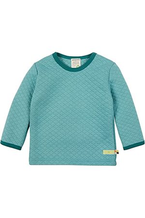loud + proud Unisex baby shirt Padded Knit, Gots gecertificeerd sweatshirt