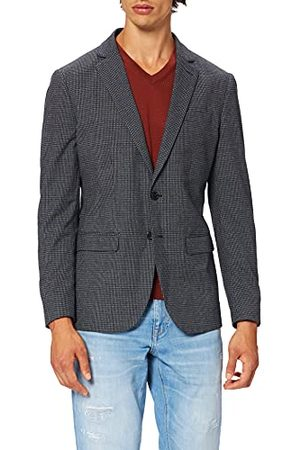 Scotch&Soda Heren Single Breasted Classic Bevat Gerecycled Polyester Blazer