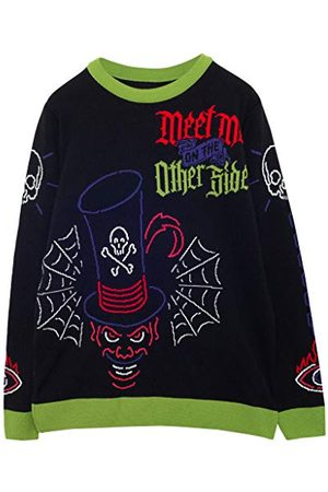 Popgear Disney Villains Dr. Facilier Heren gebreide trui XL | Jumper Ugly Sweater Fair Kerstmis Isle Xmas Gift Ideas Mens Clothing