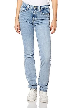 Levi's Womens 724 High Rise Straight Jeans, Spill The Tea, 3230