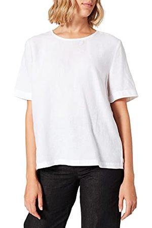 Esprit Van linnen: blouse met knoopdetails, , 40