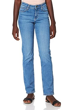 Lee Marion Straight Jeans voor dames, Mid Lina, 32W x 31L