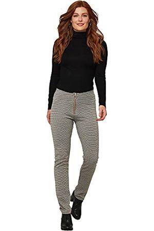 Joe Browns Dames hoge taille geruite broek broek broek 18