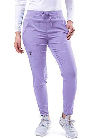 ADAR UNIFORMS Adar Pro Schrobben Voor Dames - Ultieme Yoga Jogger Schrobben Broek - P7104T - Lavendel - XS
