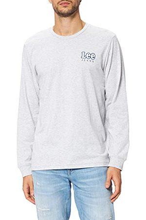 Lee Heren Ls Chest Logo T-shirt met lange mouwen